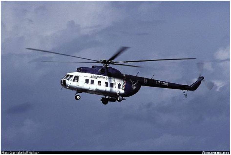 Hummingbird Airlines, Helicopter MI-8P